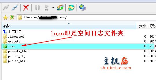 日志文件夹logs